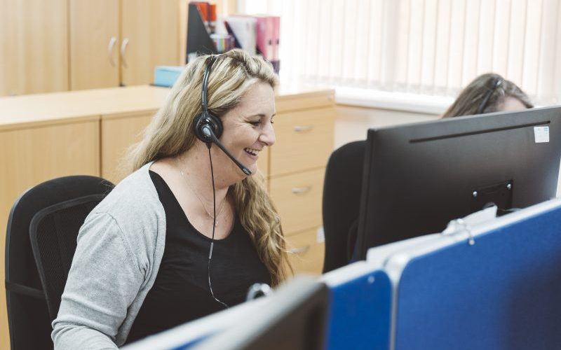 Outsourced call centre
